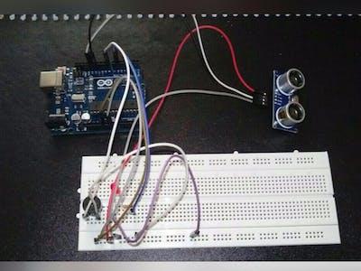 Ultrasonic Sensor Alarm