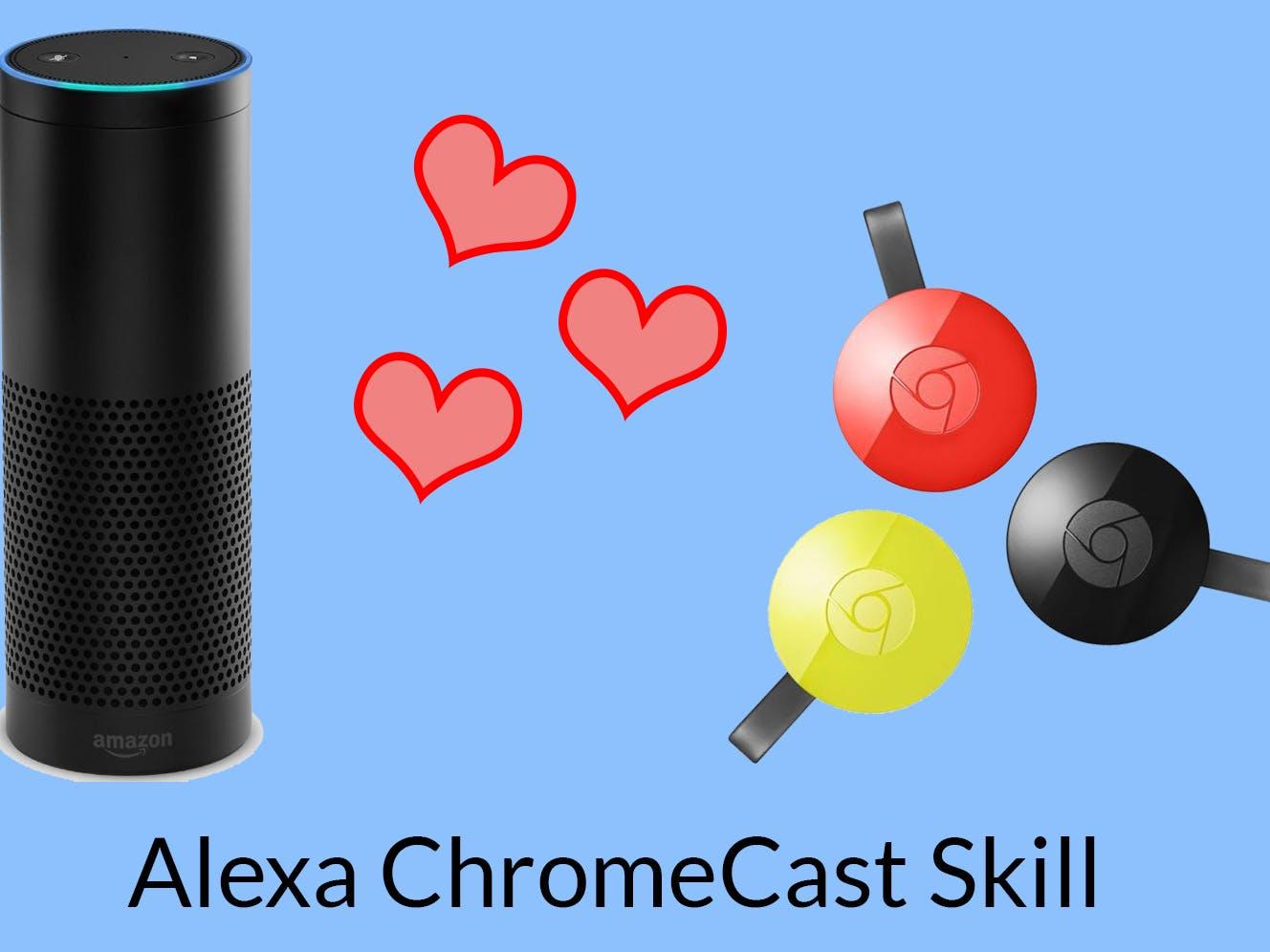 Amazon Alexa Controlling a Chromecast