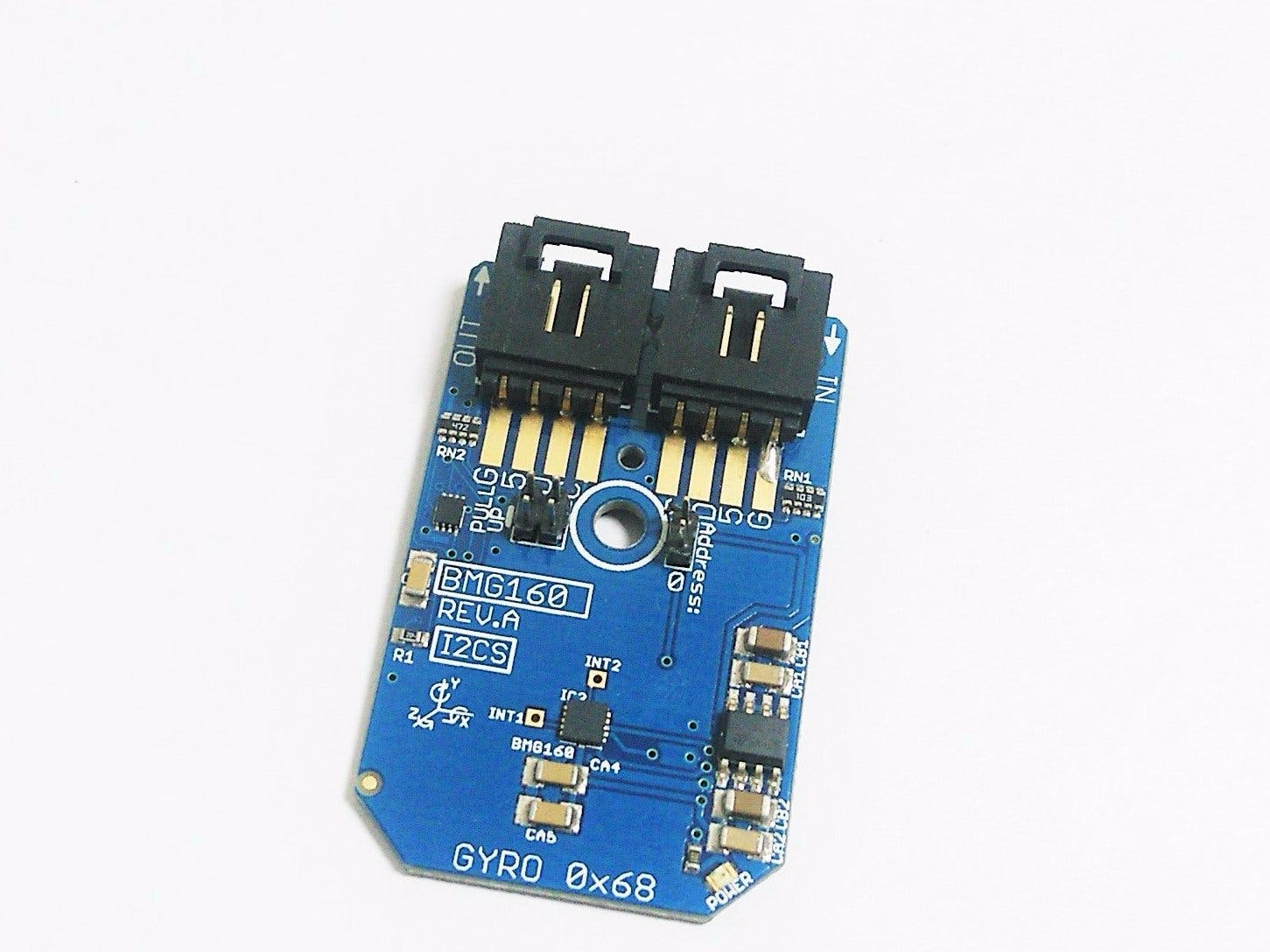 Interfacing of 3-Axis Gyroscope Sensor BMG160 With Arduino