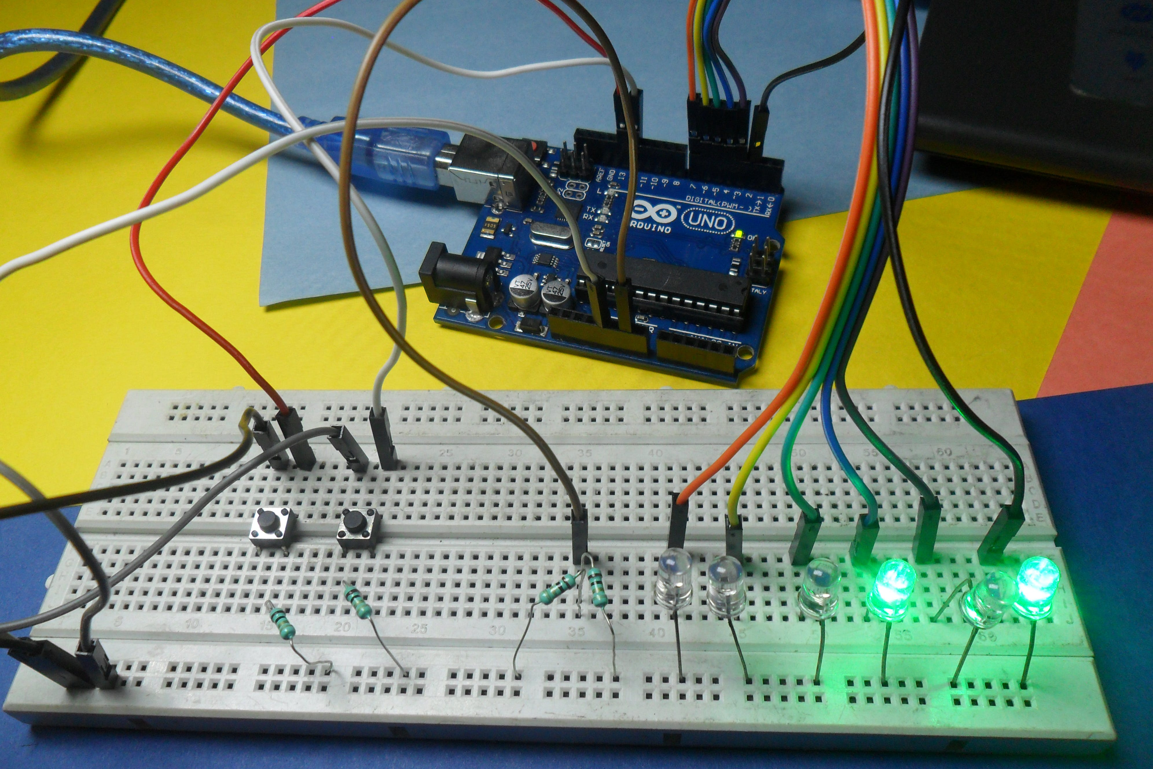 Project-1, Binary Counting