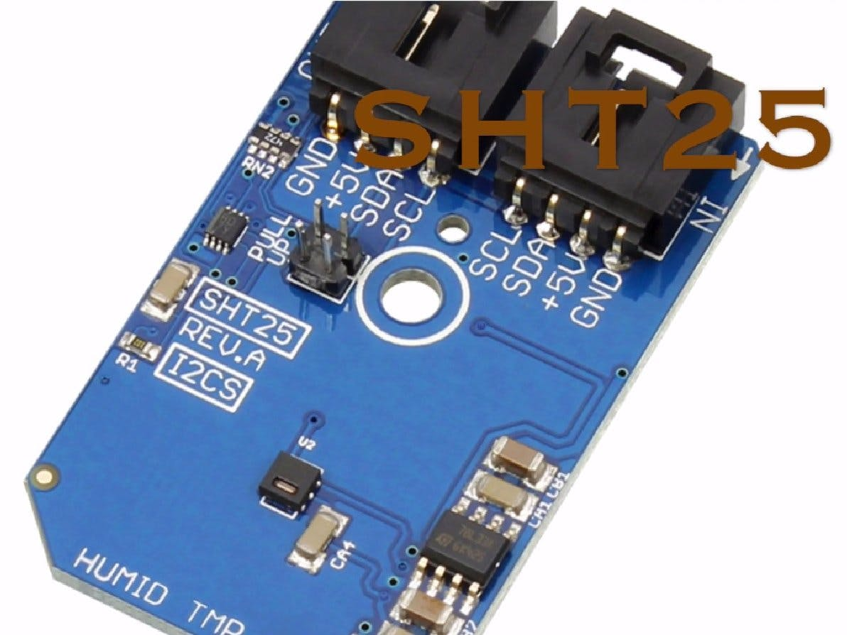 Temperature and Humidity Monitoring Using SHT25 and Arduino