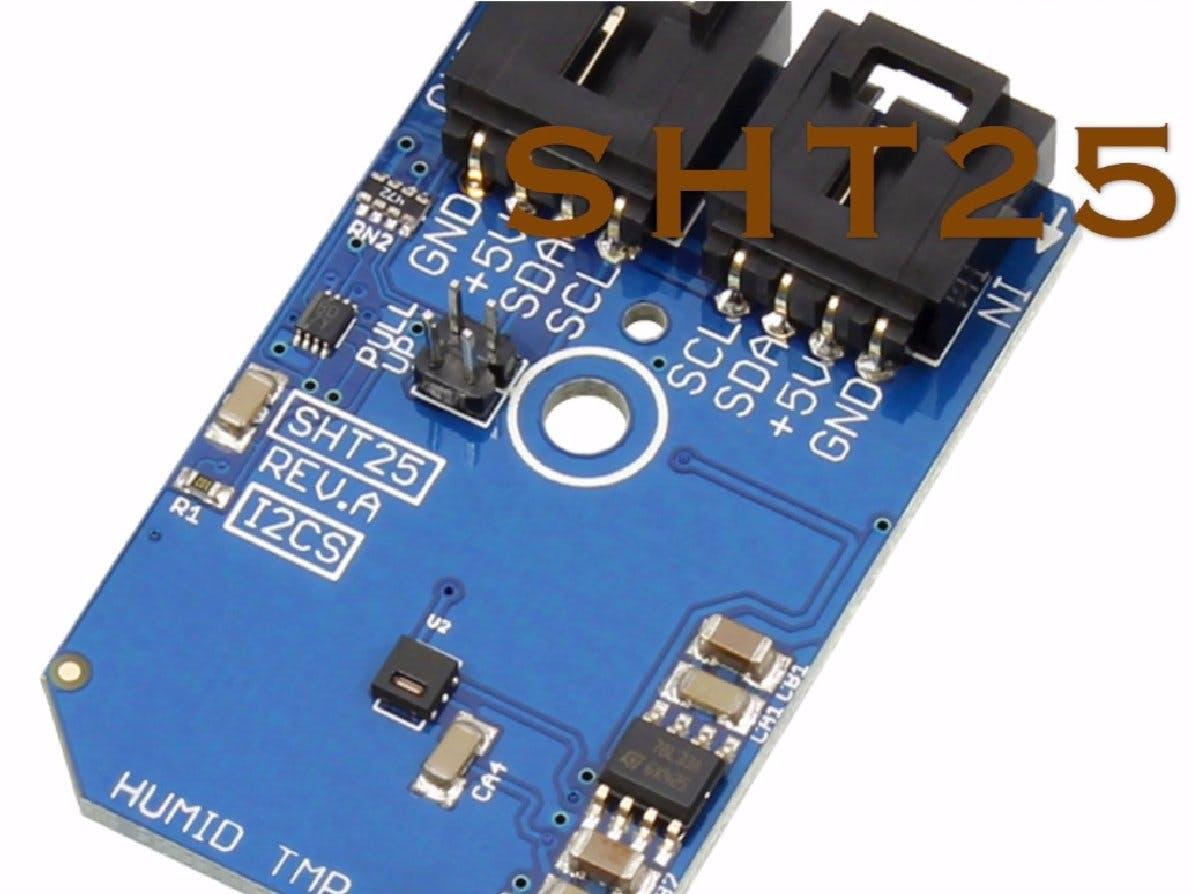 Temperature and Humidity Monitoring Using SHT25 and Particle