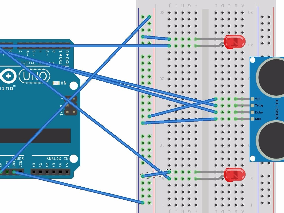 43 ultrasonic projects arduino project hubultrasonic range finder