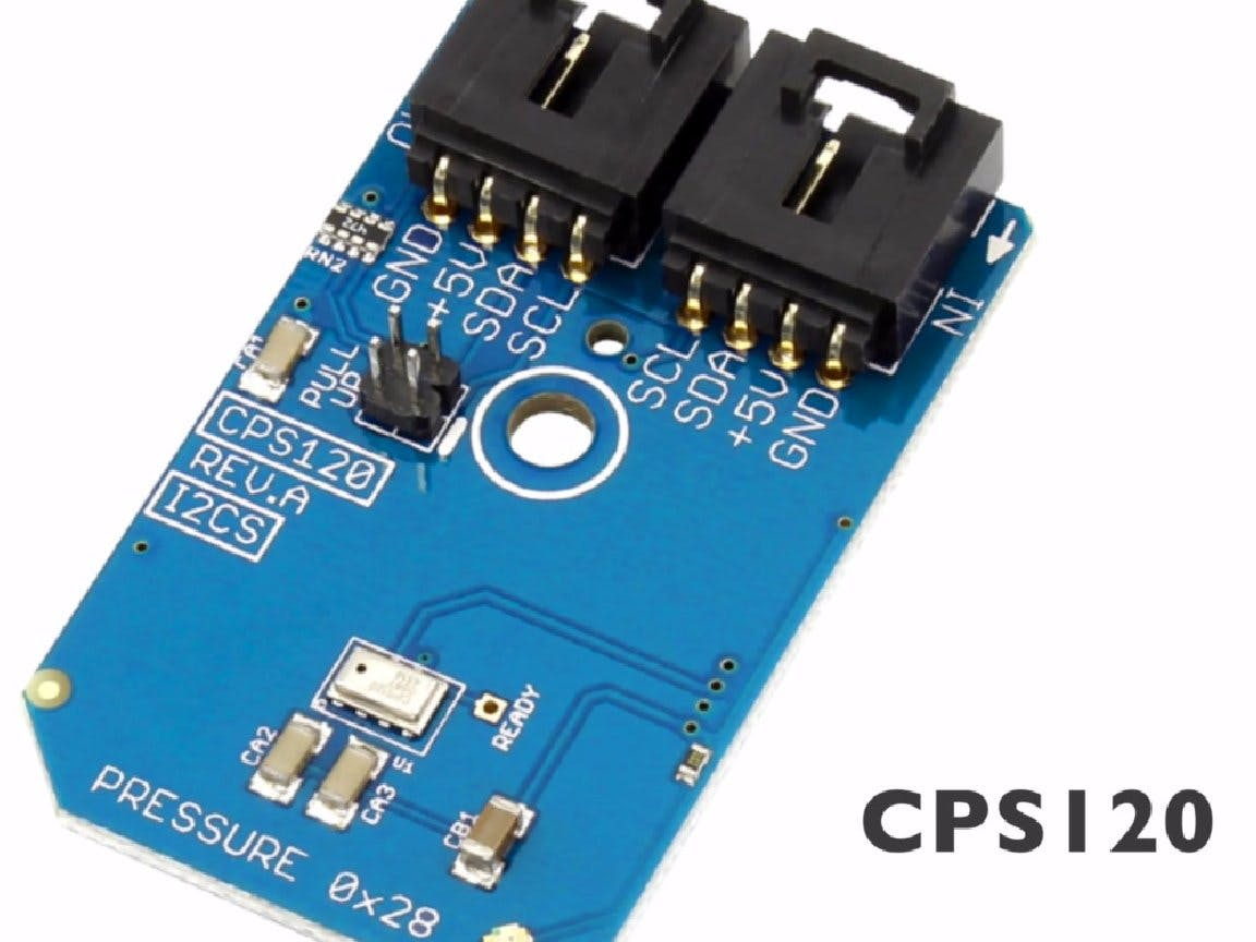 Pressure Measurement Using CPS120 and Particle Photon