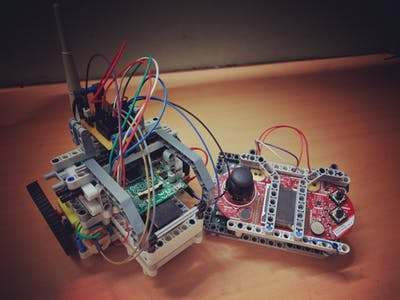Hybrid Rover - Cloud Controlled Robot