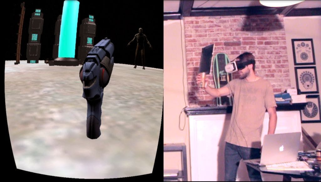 The Oculus Cardboard Project