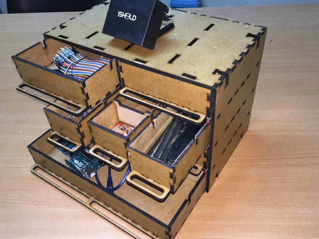 Smart storage drawer