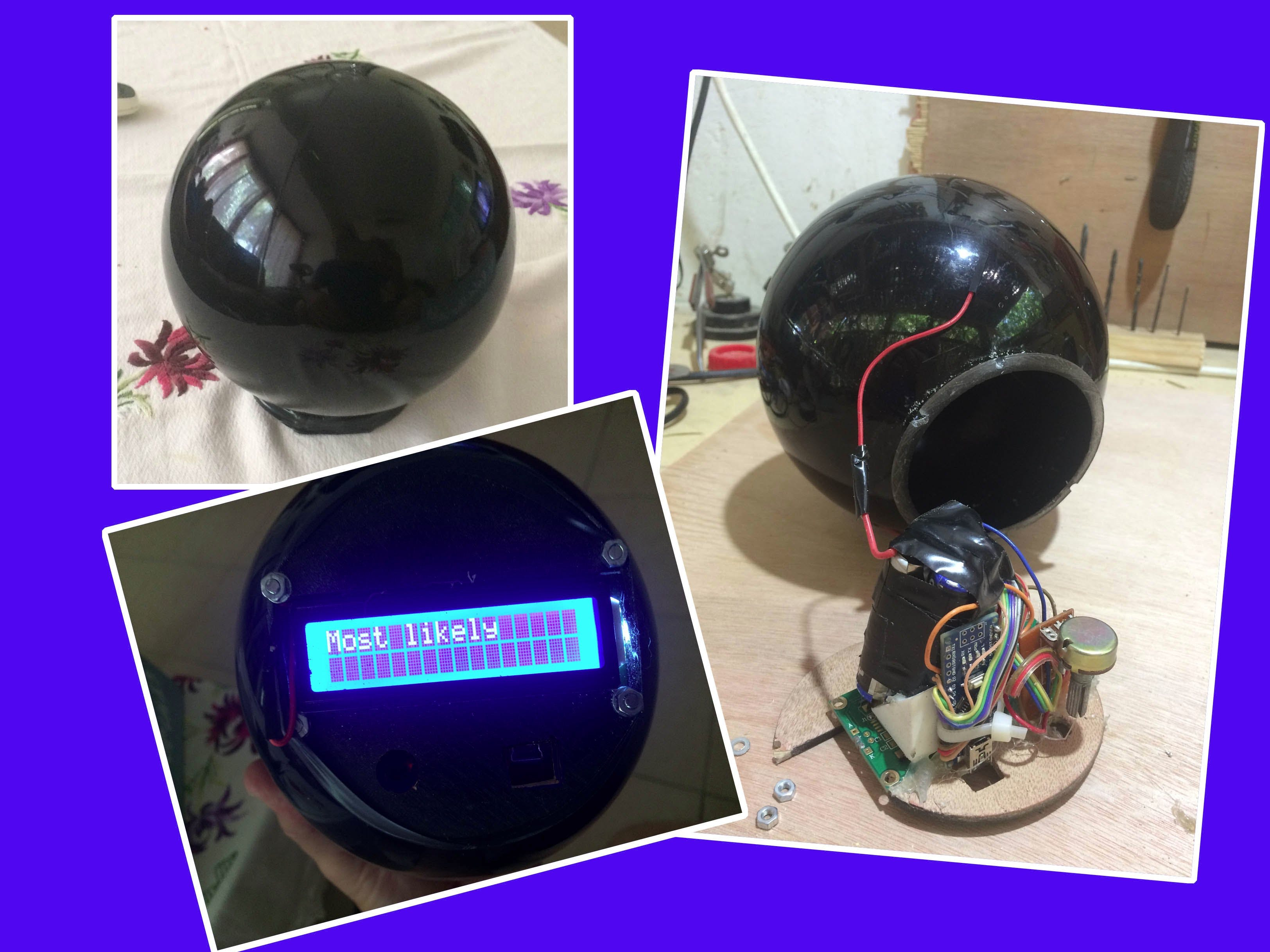 Magic Arduino Ball
