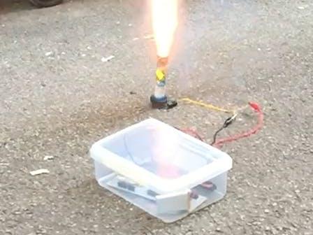 SMS-Based Fireworks Detonator