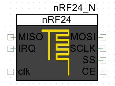 A Component Made from nRF24 PSoC Creator