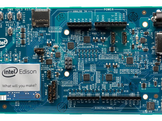 Intel Edison and Intel XDK IoT Edition 101