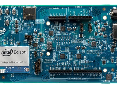 Intel Edison and Intel XDK IoT Edition 102