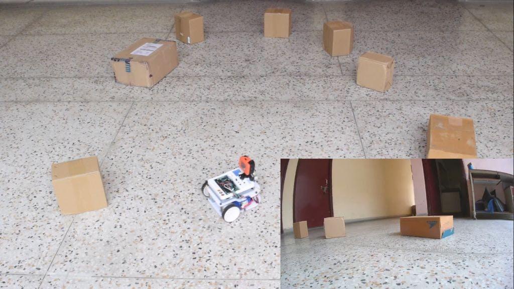 Ultrasonic Obstacle Avoiding Robot Using Evive