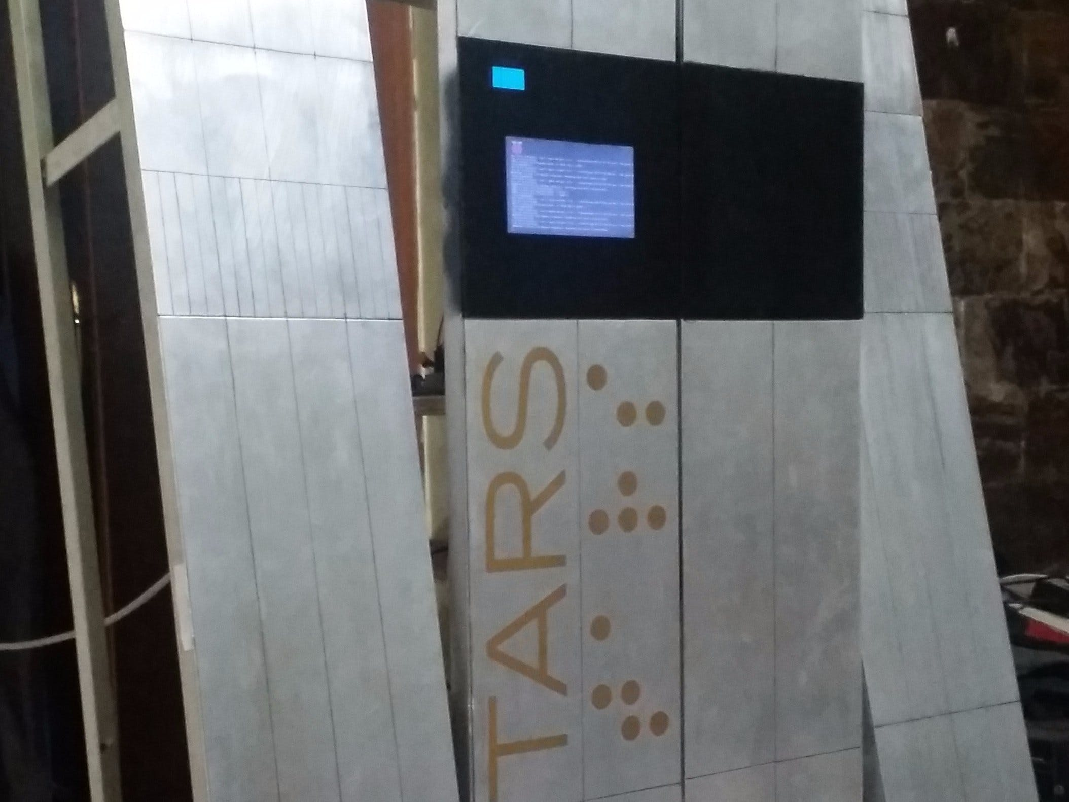 TARS: The robot from Interstellar movie