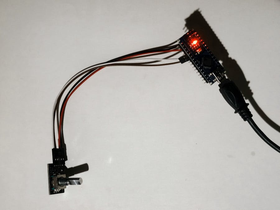 Arduino Nano: Rotary Encoder with Visuino - Arduino Project Hub