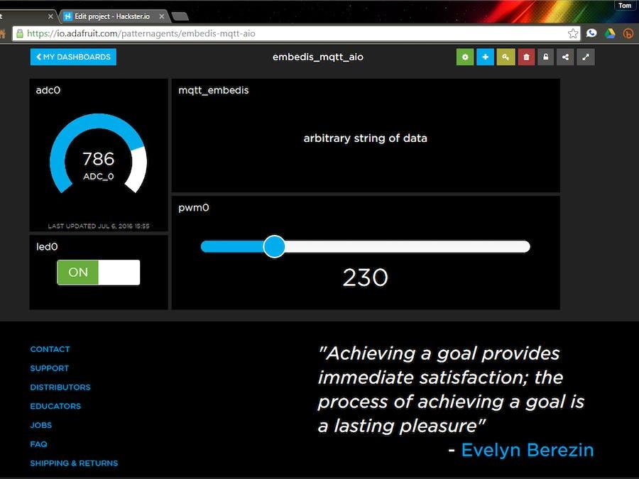 Embedis: MQTT IoT Keystore