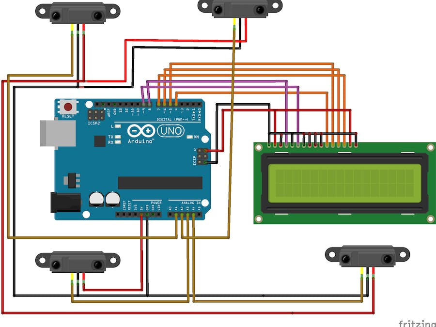 Arduino-based Obstacle Monitoring System