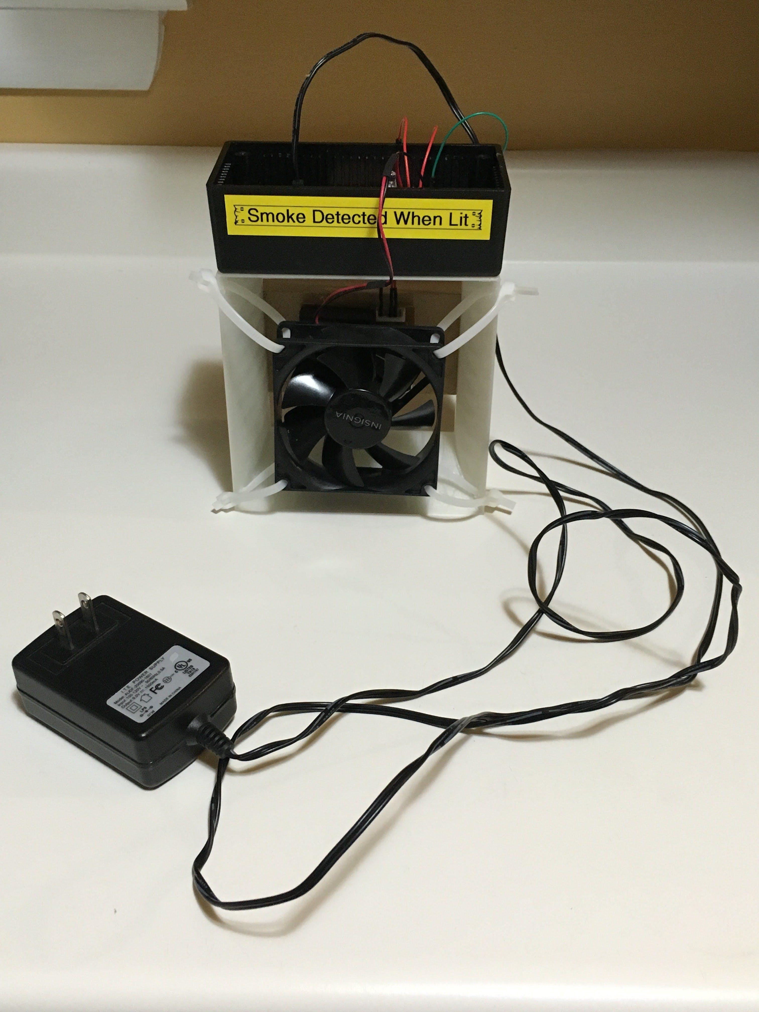 Arduino Cigarette Smoke Detector