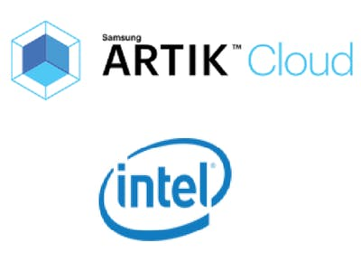 Intel Edison CPU monitoring with Artik Cloud