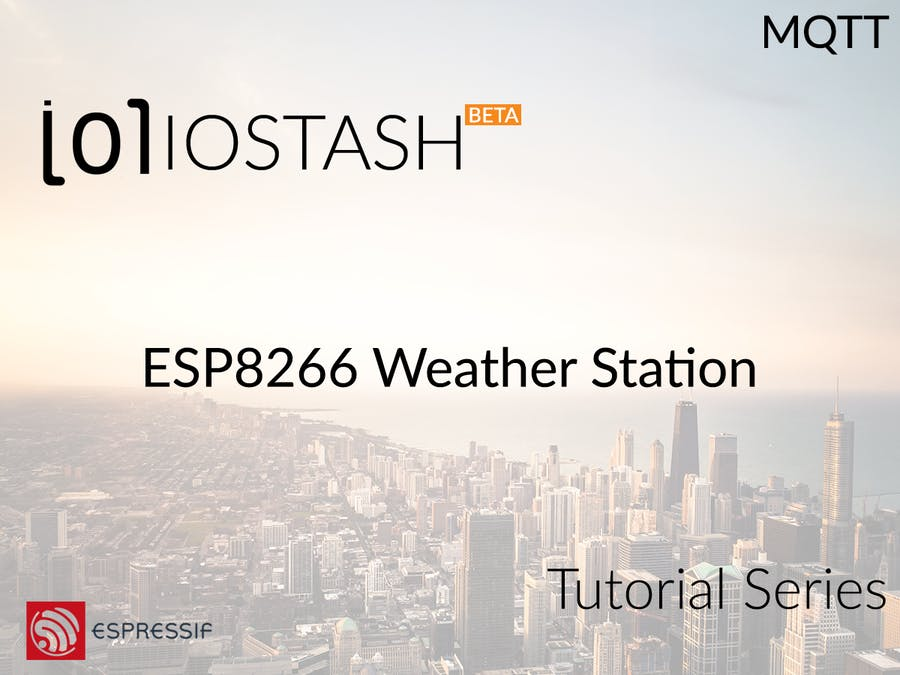 ESP8266 Simple Weather Station