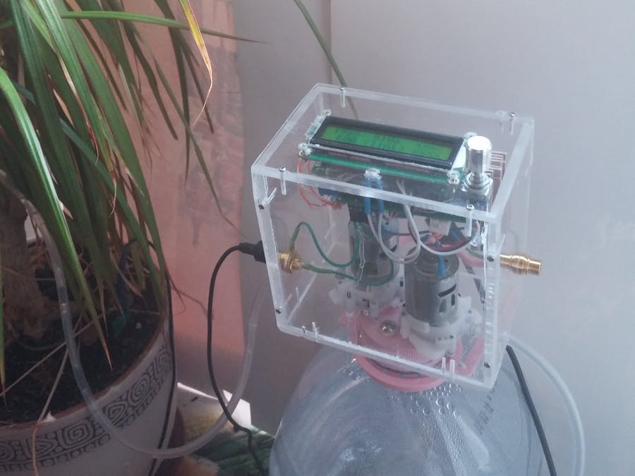 Home Plant Watering System