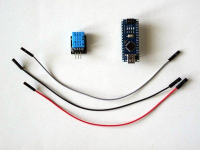 Use Temperature and Humidity DHT11/DHT21/DHT22 Sensor Module