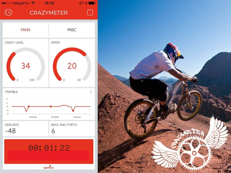 Bicycle Crazymeter