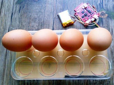 IoT Egg Tray with Humidity & Temperature Monitoring