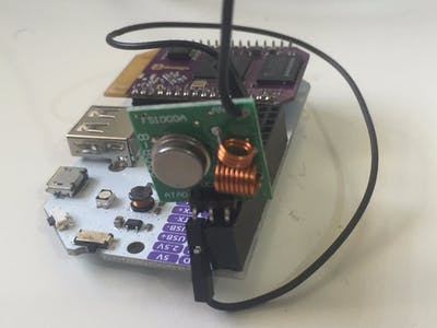Connected RF Gate Remote