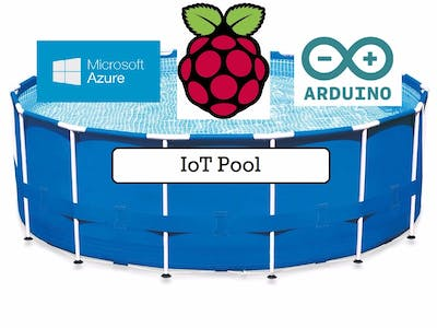 Azure IoT Swimming Pool