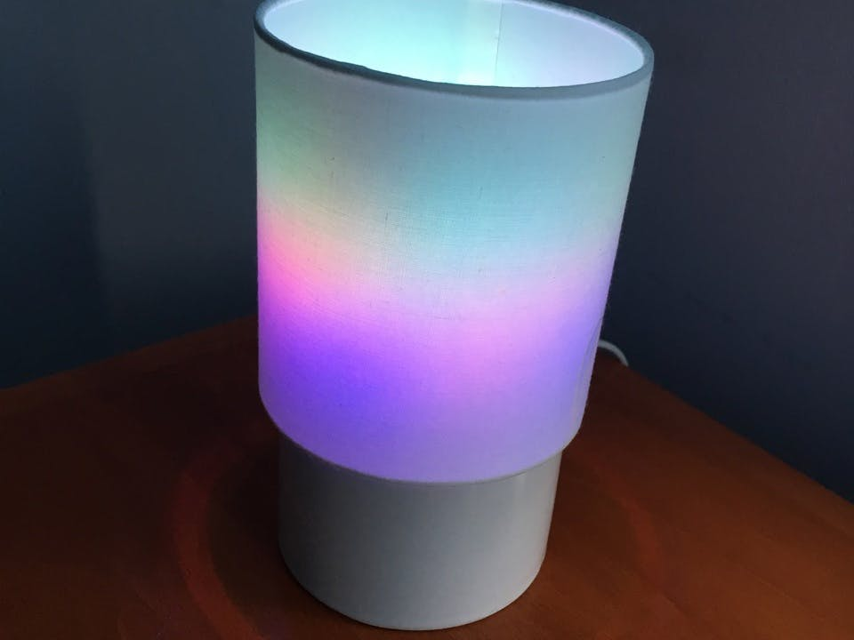 IOT TOMTA Lamp from IKEA