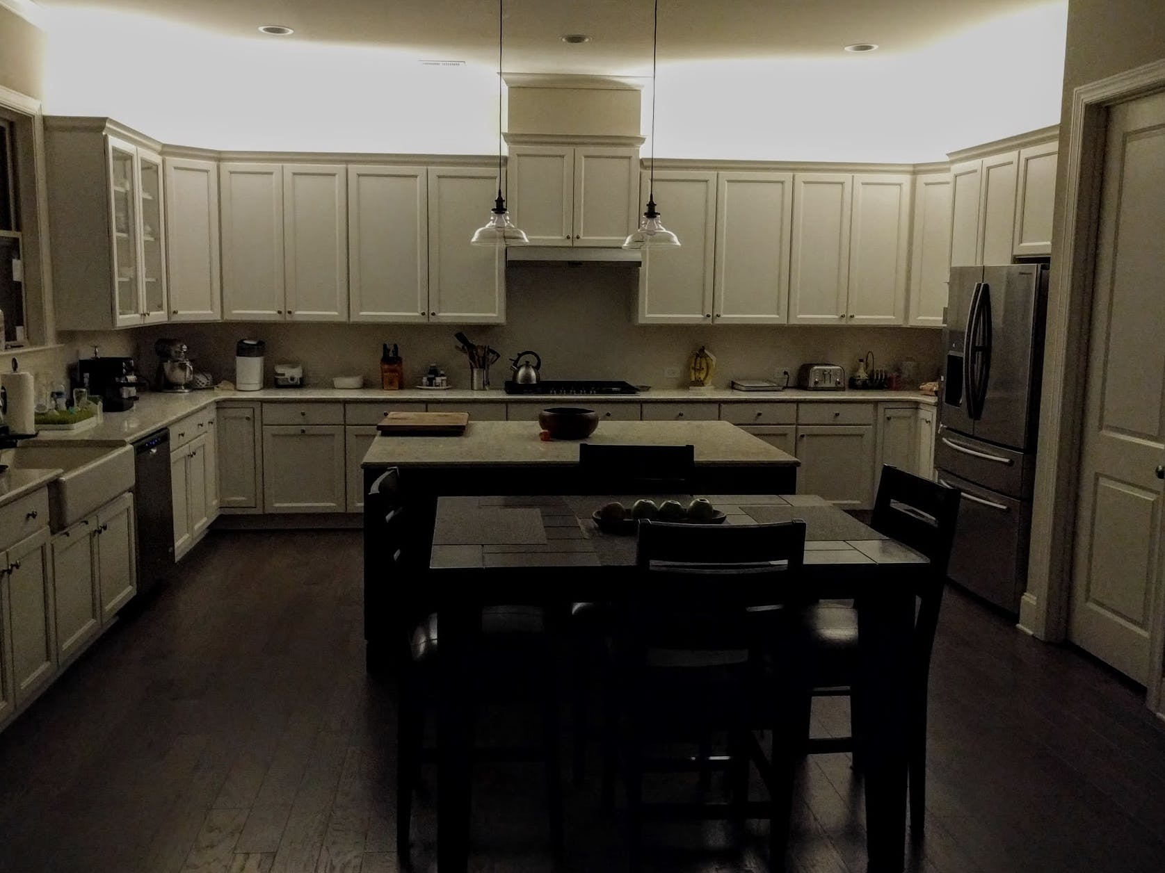 kitchen ambient lighting. Voice Controlled Ambient Lighting With Alexa And Spark Core Kitchen L