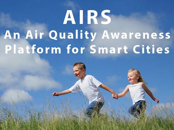 AIRS - An Air Quality Awareness Platform for Smart Cites