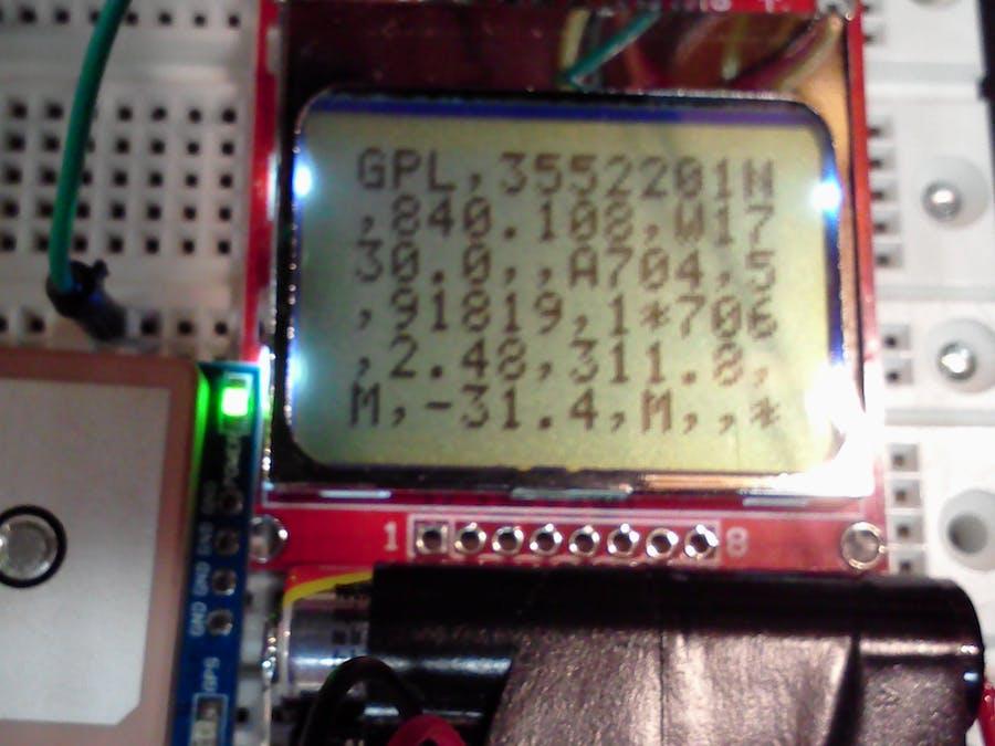 $5 Nokia Serial Terminal Display