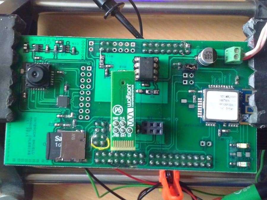 NXP Kinetics Smart Web Multimedia IoT - Flexduino Platform