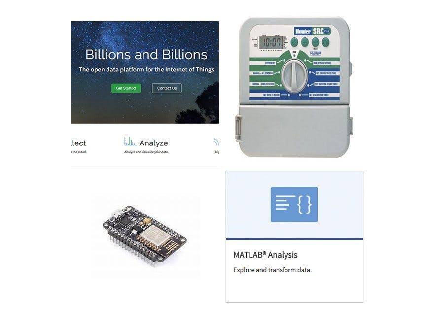 Thingspeak and Internet Sprinkler - Hackster io