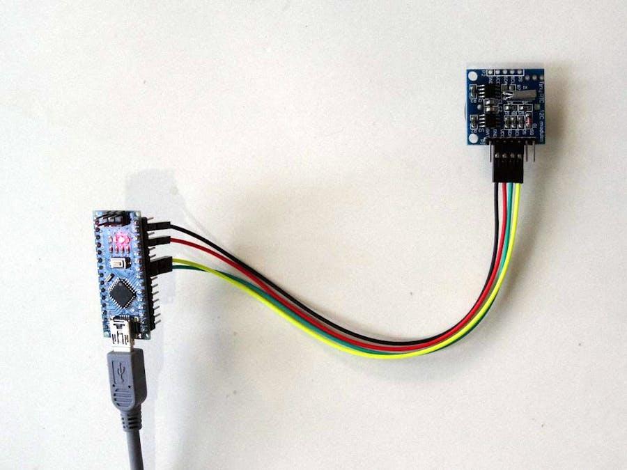Arduino Nano: DS1307 Real Time Clock (RTC) with Visuino - Arduino