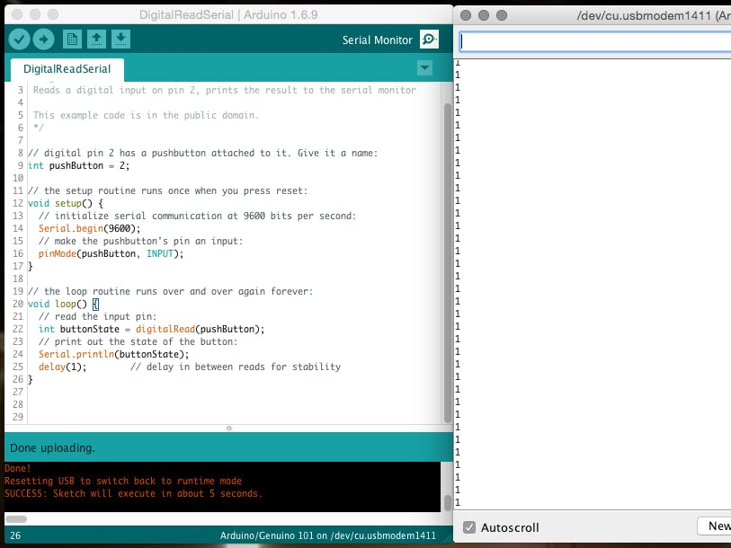 Serial monitor arduino basics hackster