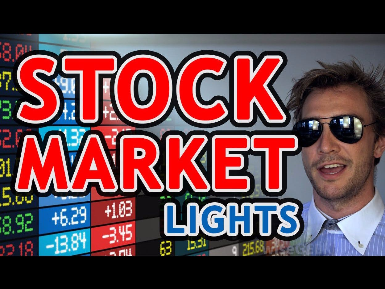 Stock Market Lights (Connected Bulbs)