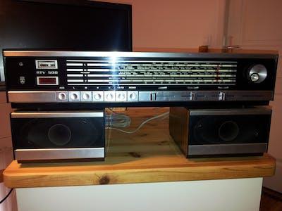 RTV500Pi : Original 70' old (web)radio