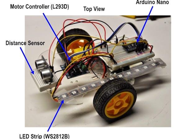 Coderdojotc robot motor control arduino project hub for Arduino nano motor control