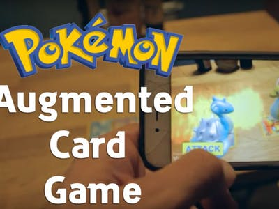 How To Make: Augmented Reality Pokemon CARD Game Tutorial