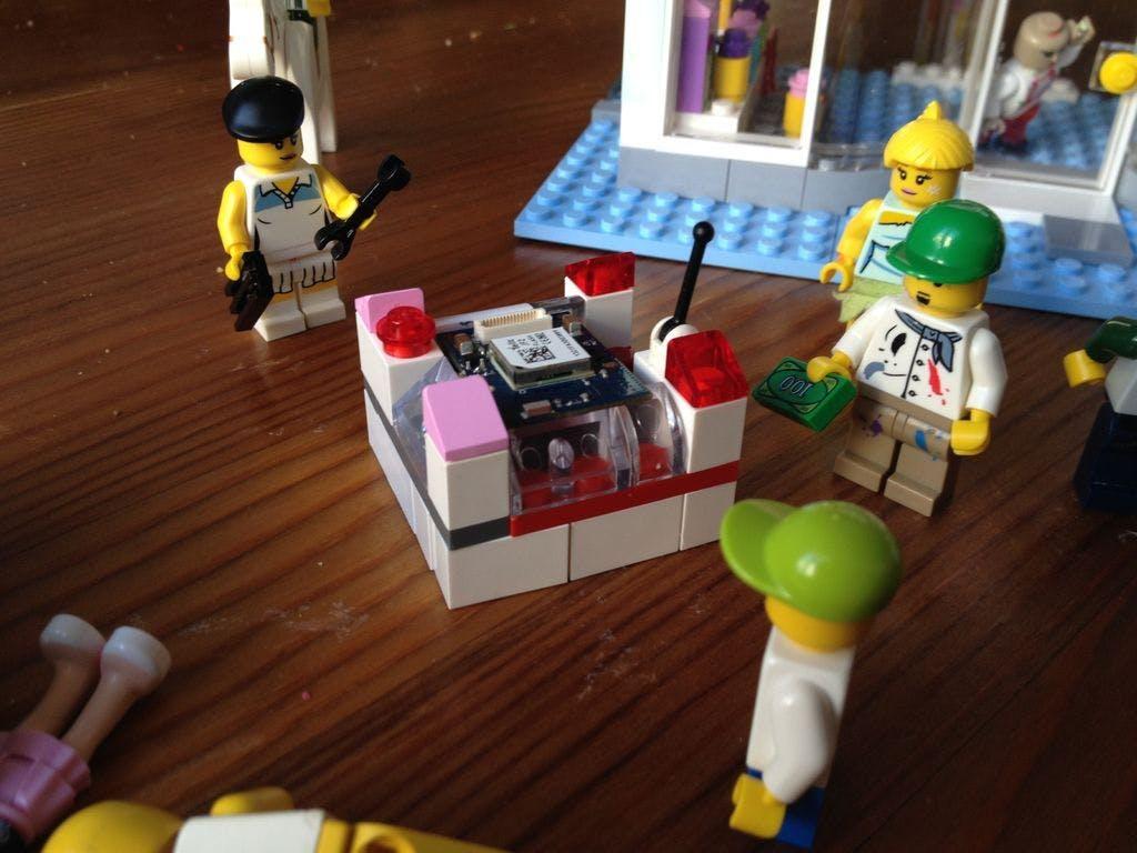 LEGO GPS Logger