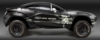 Local Motors Connected Car