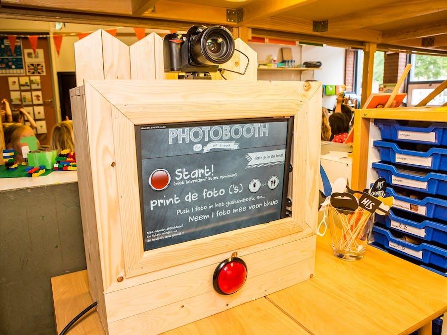 UDOO DSLR Photobooth