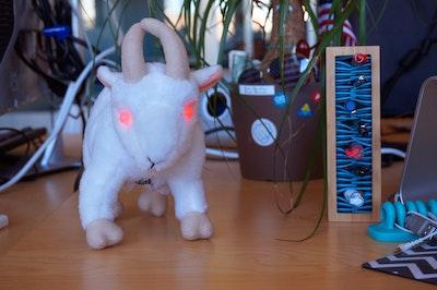 Evil LED Goat