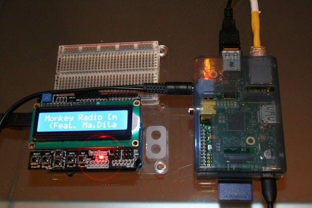 Arduino / Raspberry Pi Internet Radio