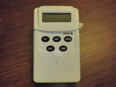 BRINKS 12V Digital Timer