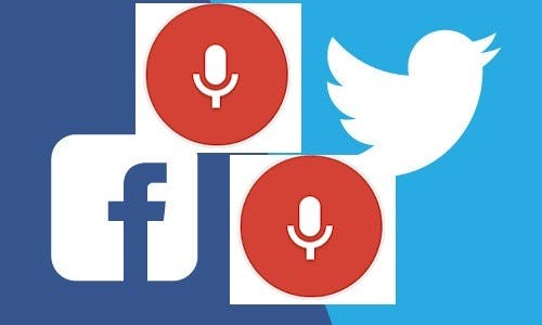 Social Media – Voice Command Posting