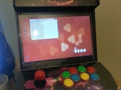 UDOO Arcade Machine